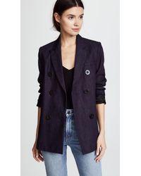 Victoria, Victoria Beckham - Tailored Denim Jacket - Lyst