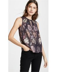 Rebecca Taylor - Rose Clip Top - Lyst
