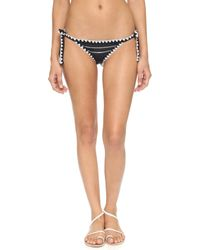 Same Swim - The Tease Tie Side Bikini Bottoms - Lyst