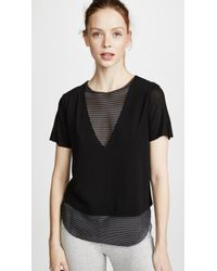 Koral Activewear | Double Layer Tee | Lyst