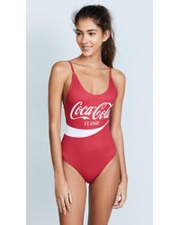 Chaser - Coca Cola Classic One Piece - Lyst