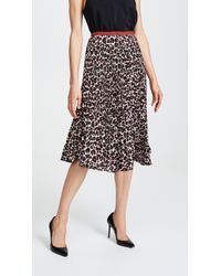 Loyd/Ford - Pleated Double Layer Skirt - Lyst