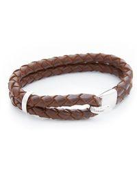 Miansai - Beacon Leather Bracelet - Lyst