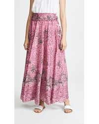 Poupette - Nola Long Skirt - Lyst