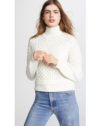 FRAME - Nubby Sweater - Lyst