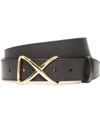 W. Kleinberg | Pimmed Leather X Belt | Lyst