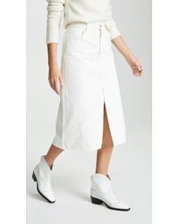Goldsign - Pearl The A Skirt - Lyst