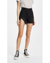 Agolde - The Dee Ultra High Rise Shorts - Lyst