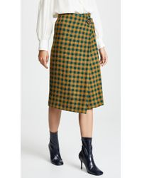 Sea - Ethno Wrap Skirt - Lyst