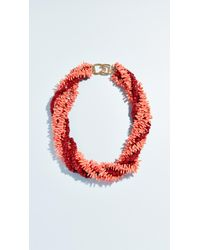 Kenneth Jay Lane - Coral Necklace - Lyst
