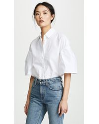 Chinti & Parker - Fluted Sleeve Shirt - Lyst