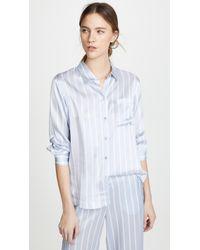 Asceno - Pyjama Top - Lyst
