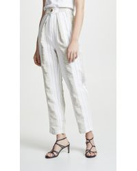 Anna October - Soft Stripe Pants - Lyst