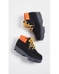 Acne Studios - Tinne Contrast Hiker Boots - Lyst