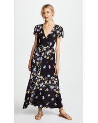 Free People - Gorgeous Jess Wrap Dress - Lyst