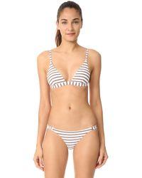Vitamin A - Moss Bikini Top - Lyst