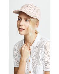 Madewell - Multi Colored Stripe Baseball Hat - Lyst
