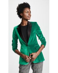 Alice + Olivia - Macey Notch Collar Blazer - Lyst