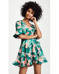 Finders Keepers - Songbird Wrap Dress - Lyst