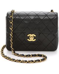 What Goes Around Comes Around - Chanel Mini Flap Bag - Lyst