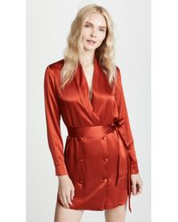 Michelle Mason - Belted Dress Jacket - Lyst
