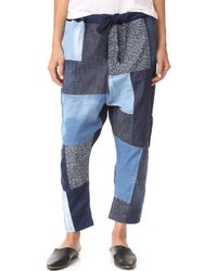 PRPS | Patchwork Jogger Trousers | Lyst