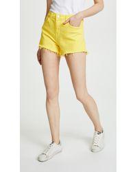 L'Agence - Ryland Shorts - Lyst