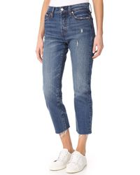 Levi's   Wedgie Straight Jeans   Lyst