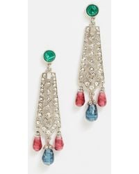 Ben-Amun - Ornate Earrings - Lyst