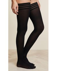Falke - Pure Matte 50 Thigh High Tights - Lyst
