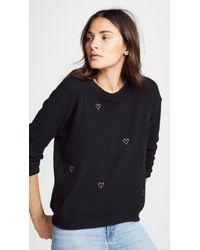 Chrldr - Lurex Heart Sweater - Lyst