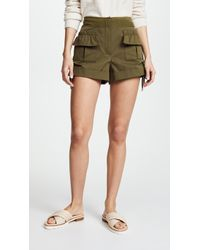 Carven - Shorts With Pockets - Lyst