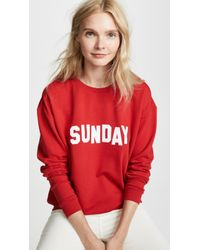 South Parade - Alexa Sunday Sweatshirt - Lyst