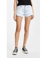 One Teaspoon - Relaxed Fit Brandos Shorts - Lyst
