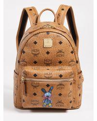 MCM - Mini Rabbit Backpack - Lyst