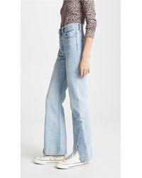 Levi's - Ribcage Split Flare Jeans - Lyst