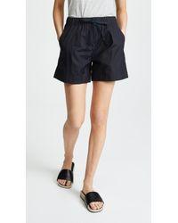 Vince - Pleat Front Shorts - Lyst