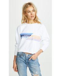 Rag & Bone - Glitch Sweatshirt - Lyst
