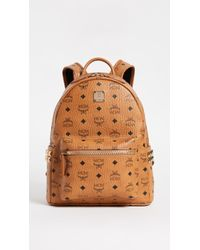 MCM | Small Stark Coated Canvas Backpack | Lyst