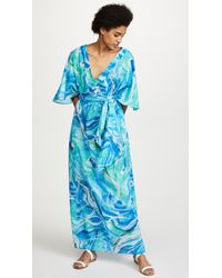 Isolda - Cover Up Maxi Dress - Lyst
