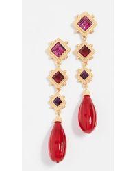 Ben-Amun - Arielle Earrings - Lyst