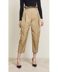 Alexander Wang - Articulated Safari Trousers - Lyst