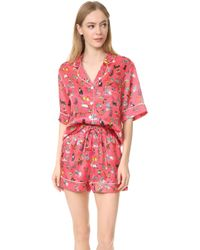 Karen Mabon - The Cats Short Pj Set - Lyst