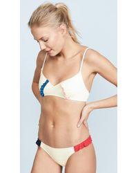 Morgan Lane - Lulu Bikini Top - Lyst