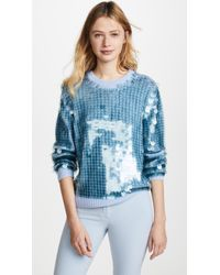 Marc Jacobs - Sequin Crew Neck Sweater - Lyst