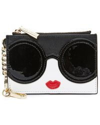 Alice + Olivia - Stacey Face Zip Coin Purse - Lyst