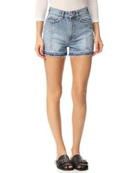 Won Hundred - Dee Dee Shorts - Lyst