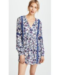 Ella Moss - Folktale Floral Tunic Cover Up - Lyst