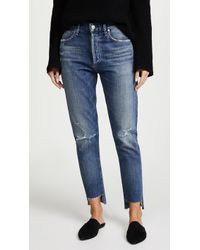 Citizens of Humanity - Liya High Rise Classic Fit Jeans - Lyst