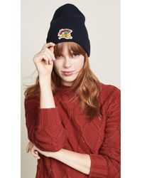 KENZO - Jumping Tiger Beanie Hat - Lyst